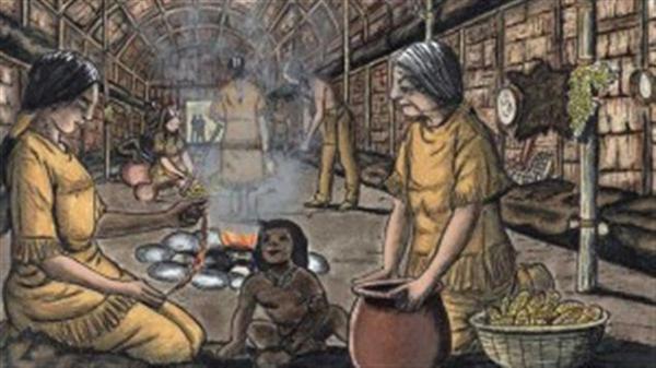 加拿大魁北克省知名的人类学家塞尔吉.布沙指出,易洛魁印第安人与北美大陆最大的印第安人群体阿尔贡金印第安人的另一个明显区别是社会结构和权力机构。阿尔贡金印第安人没有金字塔式的权力结构,是全社会参与的平行的权力结构;而易洛魁印第安人已经开始形成自己的垂直化权力体系,甚至出现了国家的雏形;几百年前就形成了至少5个国家式部落,并达成了互不侵犯协议,以联邦的形式和平共处。直到今天,加拿大仍然存在5个易洛魁印第安人的部落联盟